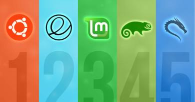Top 5 Linux Distros