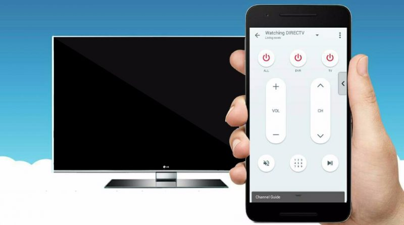 Use Your Smartphone as a Remote Control For Your TV